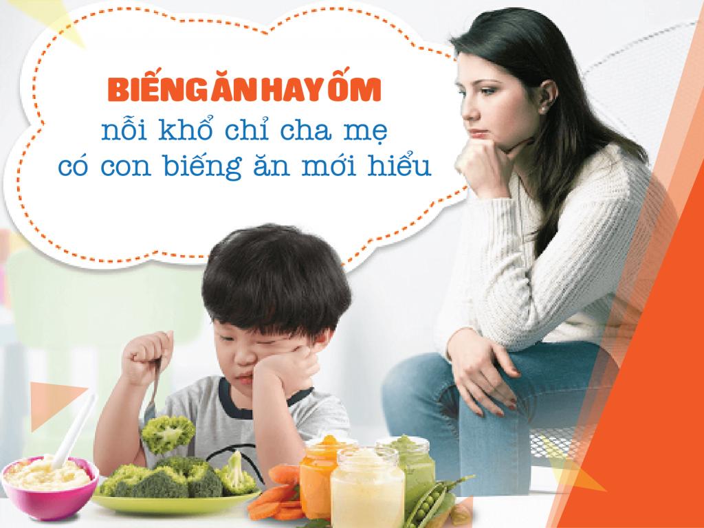 Tỳ vị hư nhược khiến trẻ chán ăn, biếng ăn.